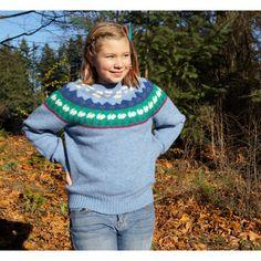 Shetland Wool Rabbit Sweater Woodland Scene (£42) ❤ liked on Polyvore featuring tops, sweaters, rabbit sweater, nordic sweater, rabbit fur sweater, 80s tops and shetland wool sweater