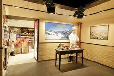 Client: Habegger AG / Lindt&Sprüngli Location: Jungfraujoch Switzerland  (3.500m) Design: Habegger AG Year: 2014 #interior #Lindt & Sprüngli #jungfraujoch #shopfitting #retail #design