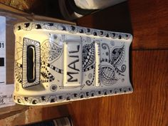 Zentangle Mail Box 43078