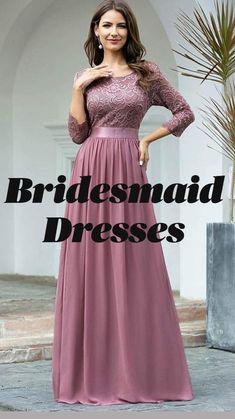 Stylish Dress Designs, Stylish Dresses, Fashion Dresses, Modest Bridesmaid Dresses, Prom Dresses, Formal Dresses, Second Wedding Dresses, Fashion Sewing, Cute Fashion