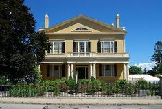 Rotch-Jones-Duff House    New Bedford, Massachusetts. built 1834. now a museum.  A National Historic Landmark.