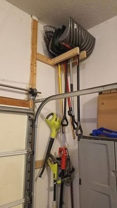 Do It Yourself Garage Storage- CLICK THE PICTURE for Many Garage Storage Ideas. #garage #garageorganization