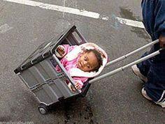 Crate stroller