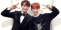 Celebrity brothers Gong Myung and NCT's Doyoung pull a cute April Fools' prank on social media Gong Myung Doyoung, Asian Actors, Korean Actors, Nct 127, Korean Celebrities, Celebs, Siblings Goals, Nct Doyoung, Kim Dong