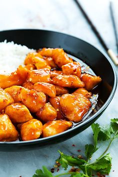 Slow Cooker Firecracker Chicken | Creme de la Crumb