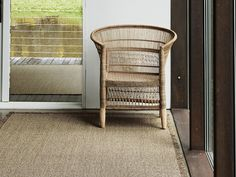 Chilewich woven floor mats are sleek, easy to clean, and safe with a sturdy latex backing that prevents curling and slipping (no rug pad required! Victorian Interiors, Modern Victorian, Radiant Heating System, Custom Mats, Outdoor Carpet, Carpet Cleaners, Heating Systems, Sisal, Floor Mats