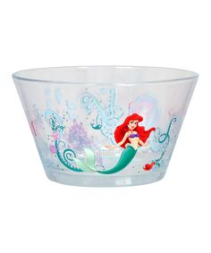 Disney Ariel Glass Bowl - Set of Two | zulily