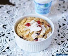Relish it: Pieczona jogurtowa owsianka z owocami