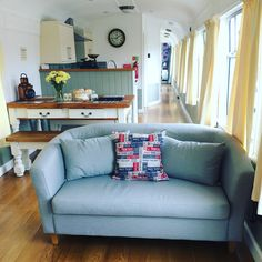 """COOL CONVERSION // Railway Retreats in Northiam - East Sussex Sleeps: 2 - 6 per carriage From £475 / week """"Tickets please: Four stunningly converted railway carriages next the Kent and East Sussex heritage rail line…"""""""