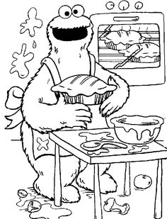 Sesame Street Coloring Pages Monster Coloring Pages Disney Coloring Pages Coloring Book Pages