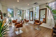 Beauty Salon Decor, Beauty Salon Design, Salon Interior Design, Home Hair Salons, Home Salon, Styling Chairs, Barber Shop Interior, East Aurora, Spa Lounge