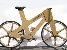 La bicicleta de cartón, el último grito en transporte ecológico - EcoPortal.net
