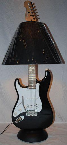 Guitar Lamps