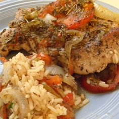 """Kent's Pork Chop Casserole 