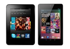 Kindle Fire HD and Google Nexus 7 tablet