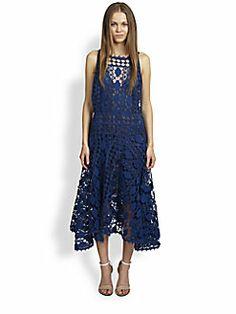 Chloe - Graphic Lace Dress
