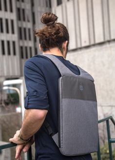 """FREE Shipping Ultra Slim Backpack Fits For 13"""" and 15"""" MacbookPro and Water Resistant  An ultra slim backpack designed to be hidden under your jacket."""