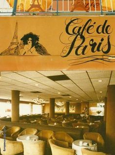 Interior - Cafe De Paris, Kotze Street, Hillbrow. Those Were The Days, The Good Old Days, Johannesburg Skyline, News South Africa, Third World Countries, We Are Young, Paris City, Good Ole, Its A Wonderful Life