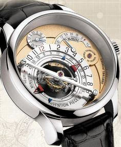 Greubel Forsey Invention Piece 1 - a watch should have one function: tell you the time at a glance. (unless you are a diver) If it takes you longer than three seconds to tell the time, throw the watch away.
