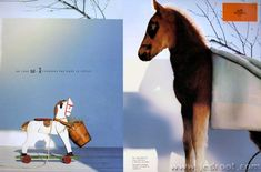 Hermes Ad Campaigns Through the Ages