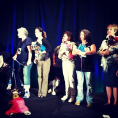 The excitement build during #pawjectrunway at #blogpaws
