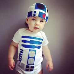 This is too cute!! R2D2 Baby Costume  Star Wars Baby Clothes by TheWishingElephant, $58.00