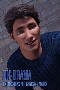 Drama Expressions For Genesis 3 Male S