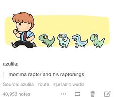 Raptorlings!