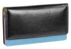Damenbörse mit Überschlag (Tropical) - M17706BKTR