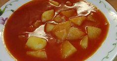 Mennyei Paradicsomos krumplifőzelék recept! Aki szereti a paradicsomlevest, ezt is szeretni fogja! :)