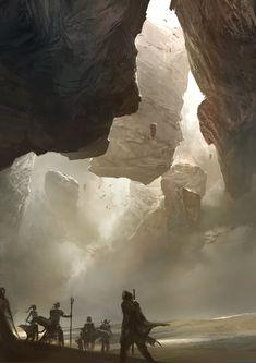 Desert Rocks by Kekai