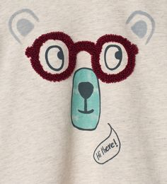 Bears and glasses T - shirt - Baby boy | new size 3 - 4 years - NEW IN | ZARA United Kingdom