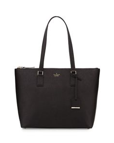 kate spade new york cameron street lucie leather tote bag, black $298.00