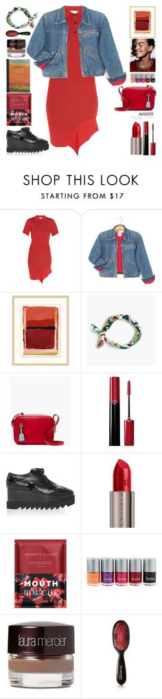 """August"" by grozdana-v ❤ liked on Polyvore featuring STELLA McCARTNEY, Wendover Art Group, J.Crew, Armani Beauty, Urban Decay, Nannette de Gaspé, Neiman Marcus, Laura Mercier and Valery Joseph"