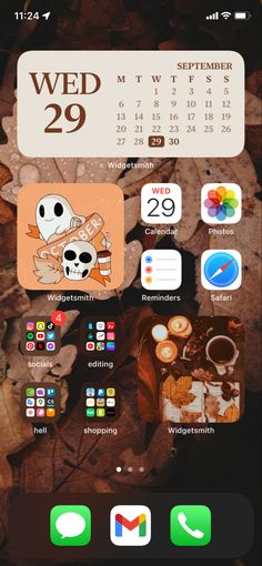 Homescreen, Ios, Layout, Iphone, Page Layout