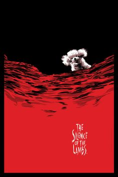 The Silence of the Lambs by Cesar Moreno - Home of the Alternative Movie Poster -AMP-