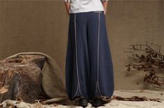 KL015P Let go love/Womens Clothing Womens Pants Wide Leg Pants Casual Pants Loose Pants Plus size Pants Harem Pants Drop Crotch Capris
