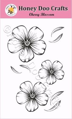 """Search for """"cherry blossom"""" Cherry Blossom Outline, Honey Doo Crafts, Cherry Flower, Alcohol Ink Crafts, Circle Tattoos, Wolf Tattoo Design, Leaf Drawing, Blossom Tattoo, Card Making Supplies"""