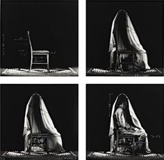 Juan Munoz • 'untitled', 1995 4 black and White photographs, Japanese Ink 12 x 9 1/2 in. (30,4 x 24 cm) each