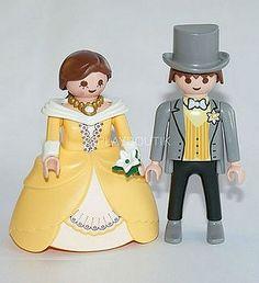 Figurines couple pour gateau de mariage Playmo par PLAYBOUTIK