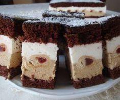 Ciasto z drożdżowymi wałeczkami