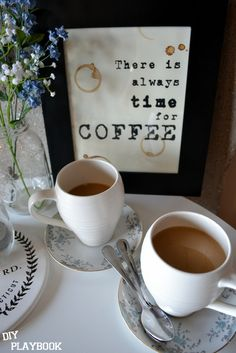 There is always time for coffee: FREE PRINTABLE