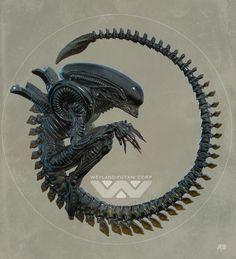 Alien - Pascal Blanche - ''Xeno 1.0'' ----