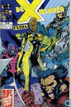 Strips - Gambit - X-Mannen 113 - Extra