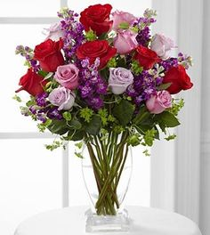 Garden Walk Bouquet – VASE INCLUDED – 21 Strems « MyStoreHome.com – Stay At Home and Shop
