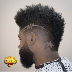 Cool Men's Haircuts + Men's Hairstyles For 2018 andyauthentic mohawk fade and hair design Black Men Haircuts, Cool Mens Haircuts, Black Men Hairstyles, Hairstyles Haircuts, Bridal Hairstyles, 27 Piece Hairstyles, Guy Haircuts, 1940s Hairstyles, American Hairstyles