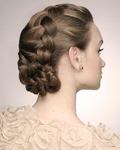 intricate yet soft bridal braided updo Cute Braided Hairstyles, Veil Hairstyles, Wedding Hairstyles With Veil, Braided Updo, Wedding Hair Plaits, Bridal Braids, Beach Boudoir, Bridal Hair Inspiration, Dutch Braids