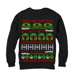Star Wars Boba Fett Ugly Christmas Sweater