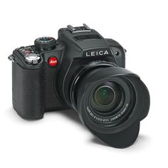 The Leica V-Lux 2 is a compact camera with enormous zoom range of 25-600 mm and full HD video recording capability. The 14.1 megapixels Leica V-Lux 2 is one of the world's fastest cameras in its class making it ideal for landscapes, sport, travel and wildlife photography. Camera includes lens hood, carrying strap, rechargeable battery (Leica BP-DC 9), battery charger, USB cable, AV cable, power cord, lens cap, instruction booklet, CD-ROM with manuals in PDF format, instructions for product…