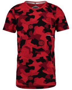 Vingino® T-shirt Hector summer collection 2019 - Shop in the official Vingino® Store. Camo Shirts, Summer Collection, Daley Blind, Camo Print, Kids Boys, Red, Mens Tops, T Shirt, Action
